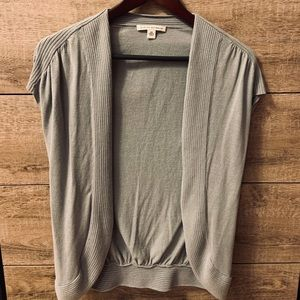 Banana Republic Short Sleeve Open Front Shirt